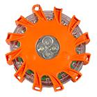 LED Warnblinkleuchte mit Magnet und Karabinerhaken