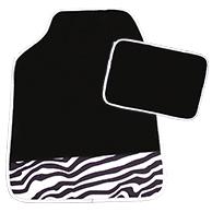Fußmatten-Set Zebra 4-tlg.