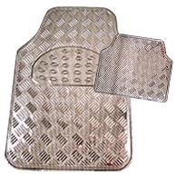 Fußmatten-Set Carbonlook 4-tlg.