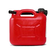 Benzinkanister Kunststoff 5l - Rot