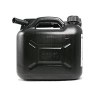 Benzinkanister Kunststoff 5l - Schwarz