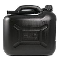 Benzinkanister Kunststoff 10l - Schwarz