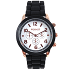 LOOX · BONZA -  Womage black & white - Damen Armbanduhr